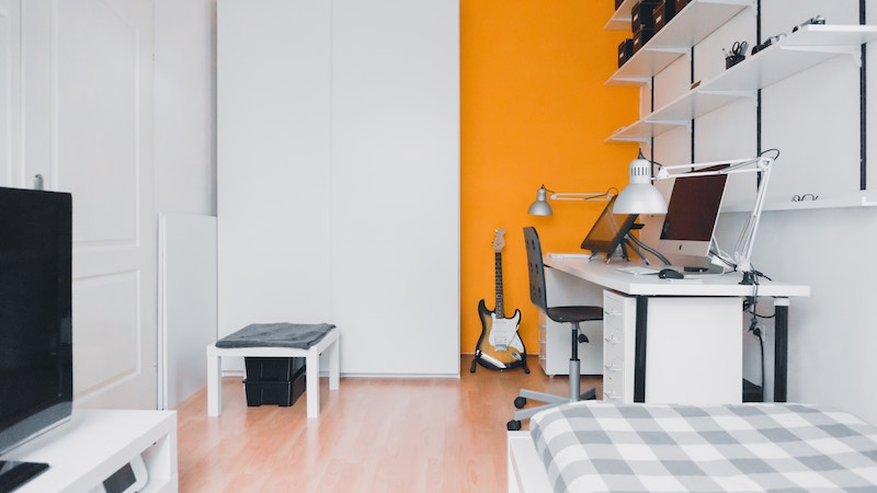 an apartment that is rented